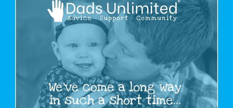 Dads Unlimited are celebrating their 4th anniversary this year.